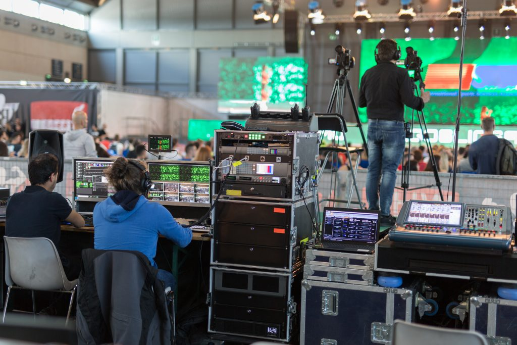What is the role of technology in the events management industry?